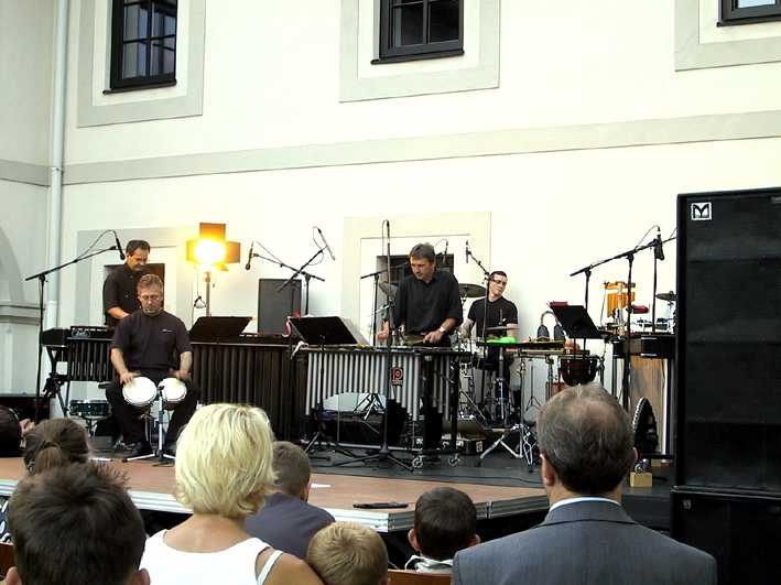 All Percussion bei den Landlwochen 2005