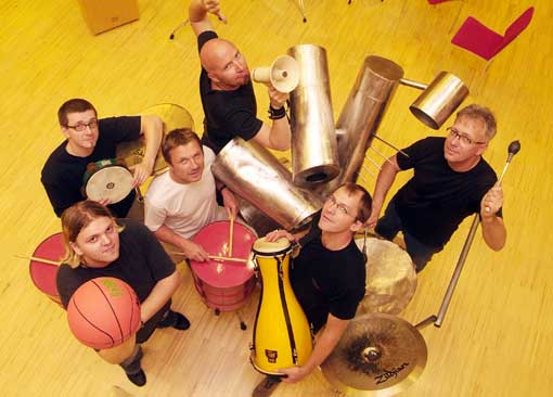 All Percussion mit Ali Andress (2)