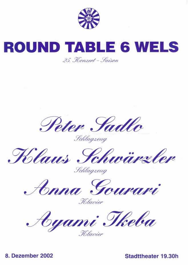 Crossover bei Round Table 6 in Wels