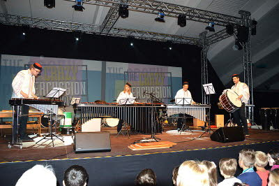 Crazy Percussion Show Thalheim 6.6.2014